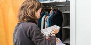 Clean Out A Closet Before Your Move