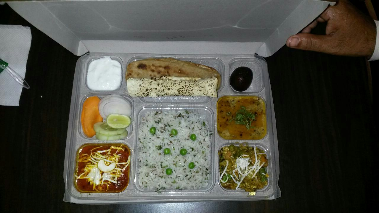 food from train