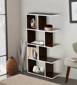 How to Style Your Bookshelf Shelves