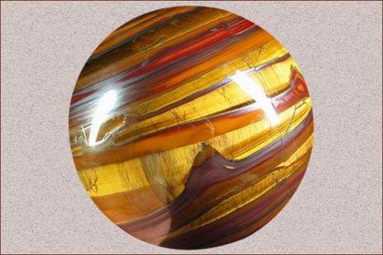 tiger's eye gemstone
